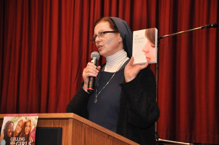 Sister Helena Burns, FSP, Calling All Girls Evening 2018
