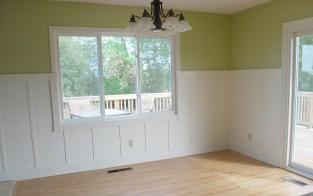 Dining Room - board & batten