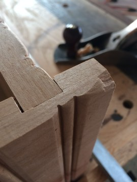 Smoothed out with jack plane