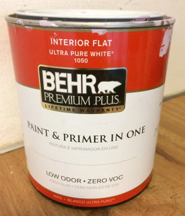 Get the cheapest Behr flat paint
