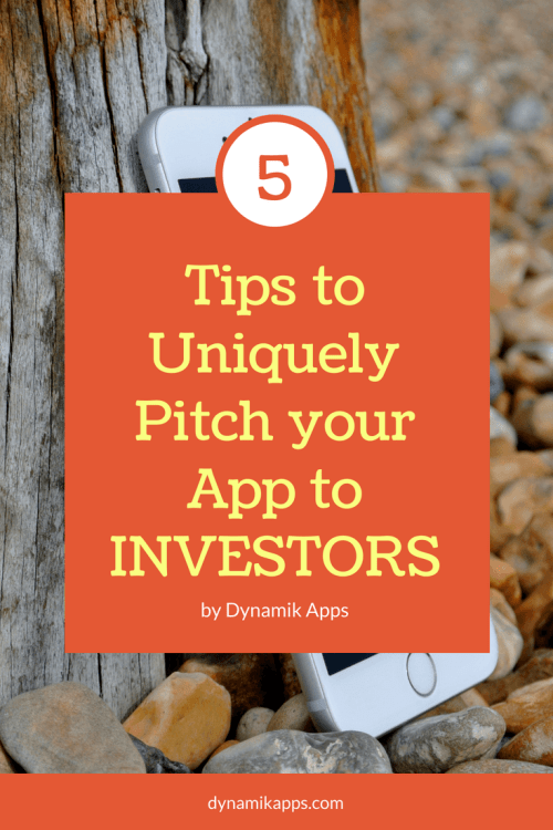 Tips to pitch to investors fr your mobile app
