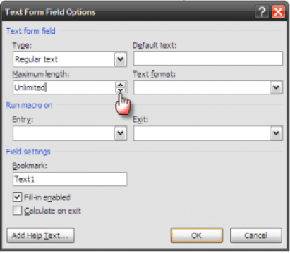 word forms06   Make A Fillable Form In Word 2010 & Collect Data The Easy Way