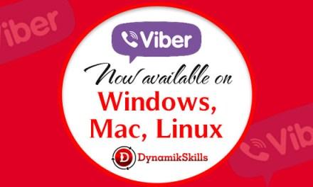 Enjoy Viber on Desktop Computers