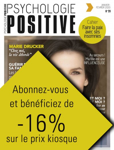 Magazine Psychologie Positive - Presse psychologie