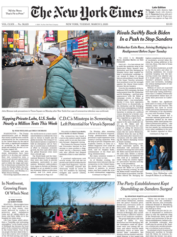 New York Times Internaitonal Edition