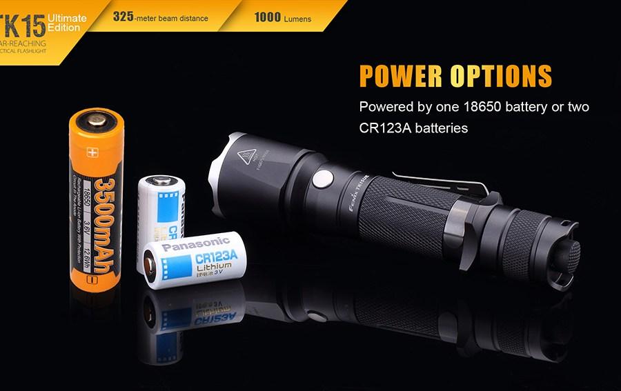 Taktické LED svietidlo Fenix TK15UE 8