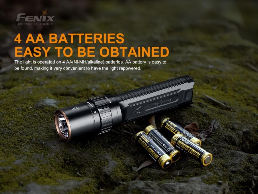 Ručná LED baterka Fenix LD42