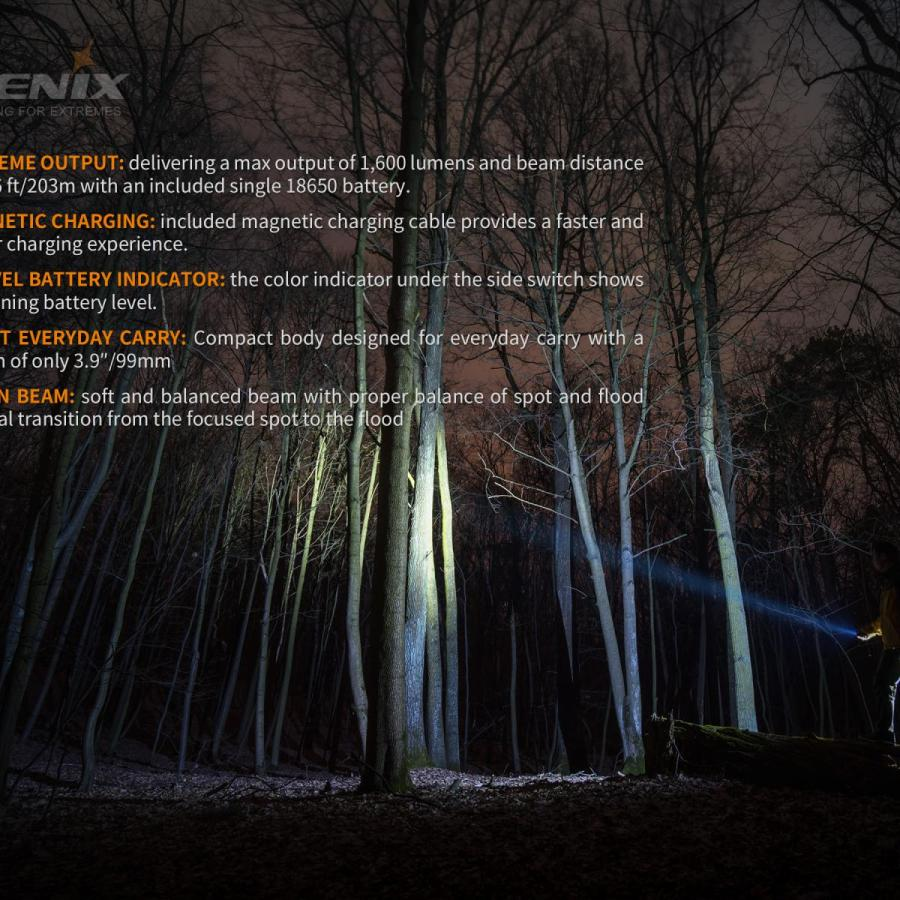Nabíjacia LED baterka Fenix E30R