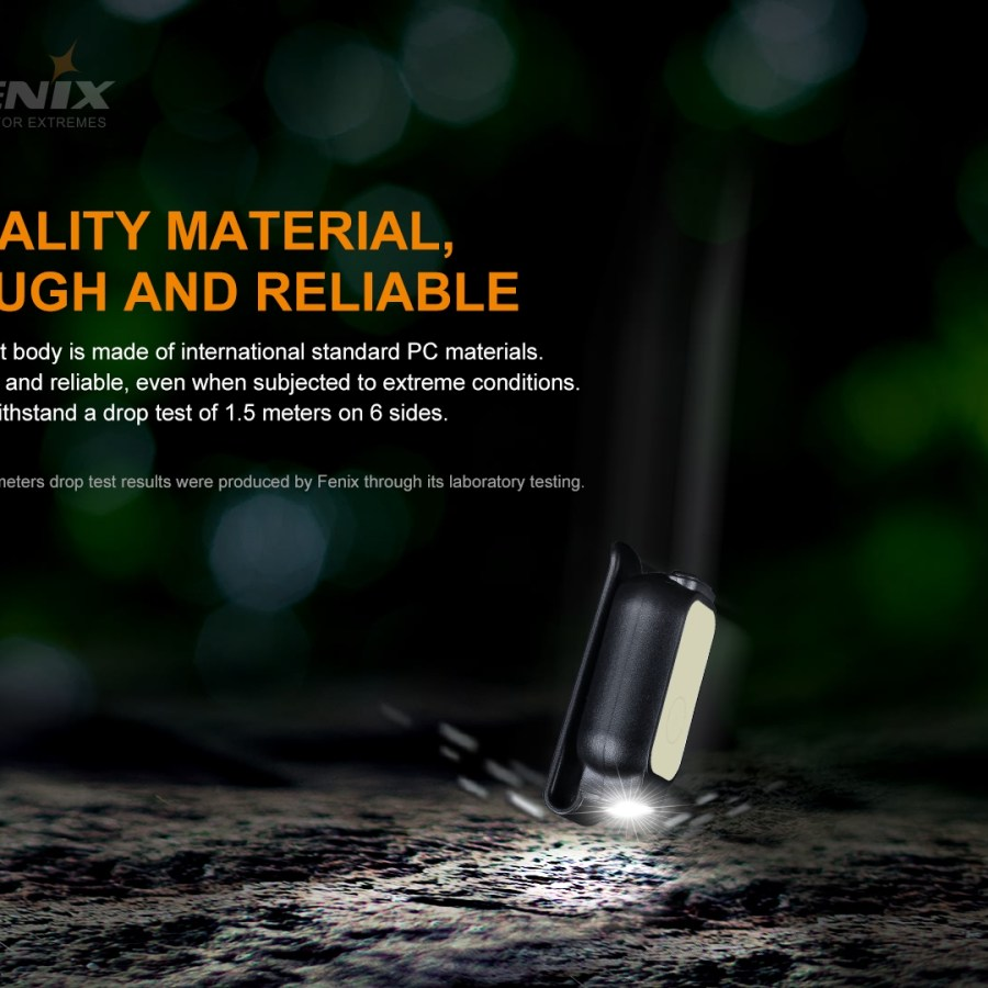 Nabíjacia mini baterka Fenix E-LITE