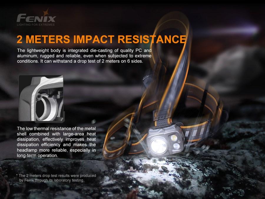 Nabíjacia LED čelovka Fenix HP16R