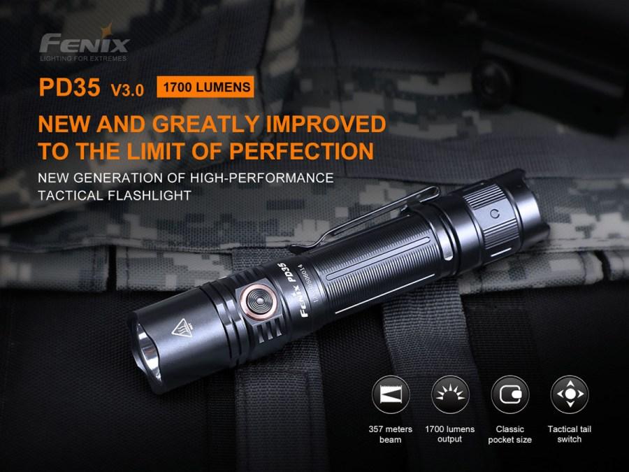 LED baterka Fenix PD35 V3.0