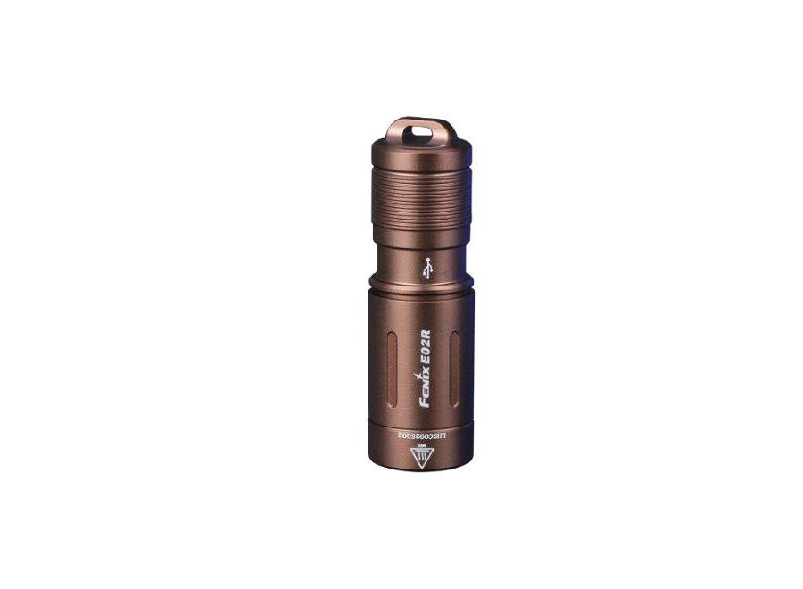 Nabíjacia LED baterka Fenix E02R