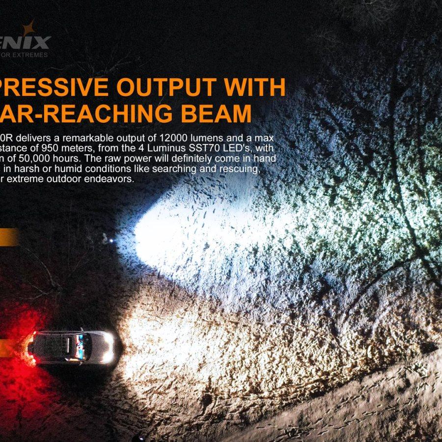 Nabíjacia LED baterka Fenix LR50R