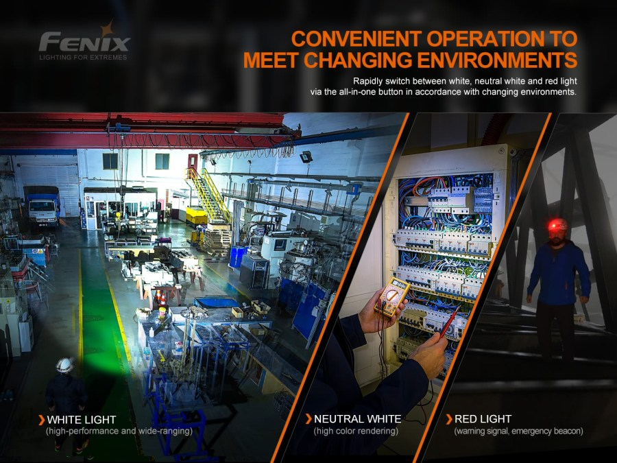Nabíjacia LED čelovka Fenix HM70R