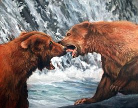 "Glenice Moore ""Battle at Cook Falls"""