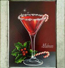 "Jill Fitzhenry ""Candy Cane Martini"""
