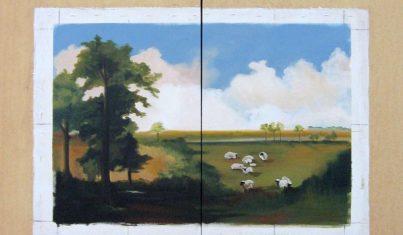Lori Bollinger Picasso sheep