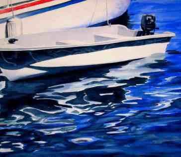 """Yacht Tender"" by Annie-Strack"
