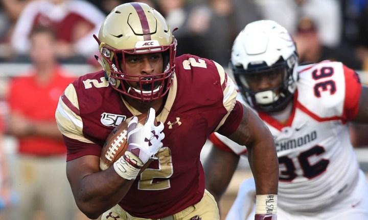 2020 NFL Draft Prospect – AJ Dillon, RB Boston College - Dynasty ...