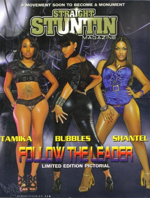 Bubbles on cover of latest Straight Stuntin