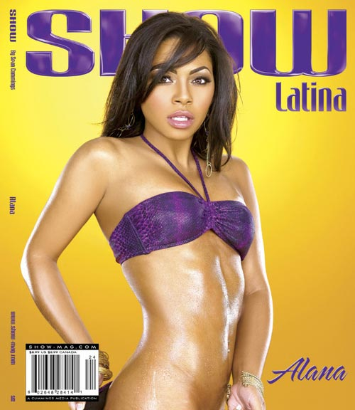 Pic of the Day: Alana Marie on cover of SHOW Latina