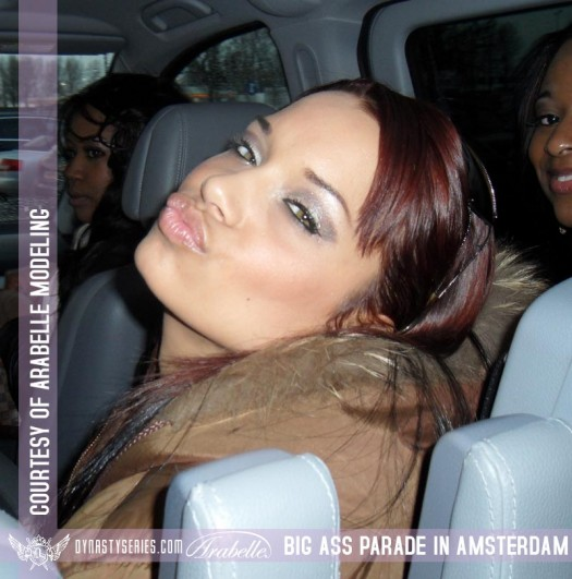 Cubana Lust, Rabbit, Amber Priddy, Jazzie Belle, Absolutely Amber, and more in Amsterdam - courtesy of Arabelle Modeling