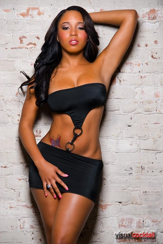 Pic of the Day: Sheneka Adams - courtesy of Visual Cocktail