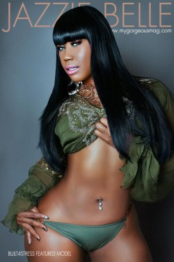 Jazzie Belle coming soon to Gorgeous Magazine