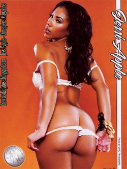 Jessi Apple featured in Dimepiece Magazine - scans courtesy of TheWizsDailyDose