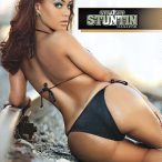 KikiKayo in the latest issue of Straight Stuntin - courtesy of Facet Studio