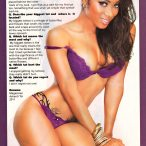 Ashanti Toi in Ink Candy issue of Blackmen Magazine - courtesy of Facet Studio