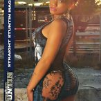 Lilly Belle in latest issue of Straight Stuntin - courtesy of Ice Box Photography