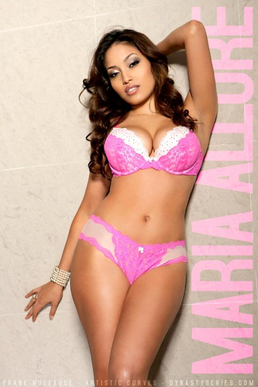 Maria Allure: Pink Marble - courtesy of Frank Hotsauce and Artistic Curves
