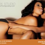 Ashleigh Hue and Stoney Janay - courtesy of Ice Box Studio and Eclypse Modeling