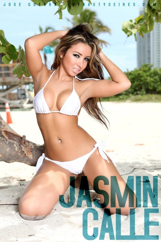 Jasmin Calle: Sand Castles - courtesy of Jose Guerra and Wet Couture Swimwear