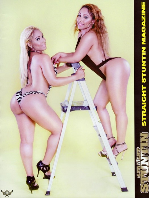 Collins Twins in the latest issue of Straight Stuntin