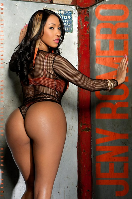 DynastySeries TV: Jeny Romero - Freight Lift - courtesy of Frank D Photo and Artistic Curves
