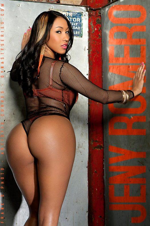 DynastySeries TV: Jeny Romero - Freight Lift - courtesy of Frank D Photo and Artistic Curves