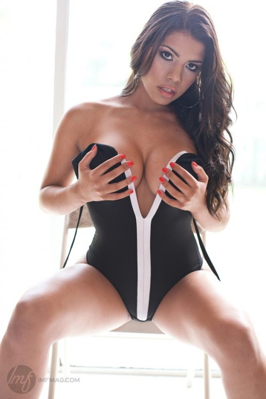Elizabeth Ruiz in IMFMag.com - courtesy of DarrylOmar