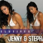 Stephany Romero and Jenny V: Double Trouble - courtesy of Yohance DeLoatch
