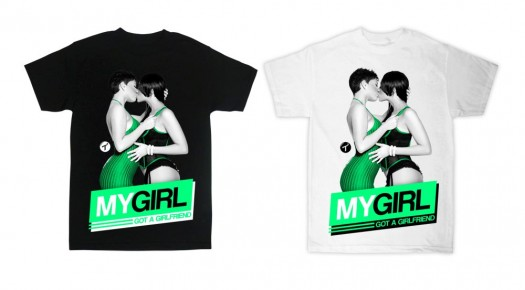 Get Brittany Duet T.I.T.S Brand Shirt - Coming Soon - courtesy of Arabelle Modeling