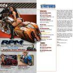 Kristal Solis on cover of Custom Street Bikes Magazine