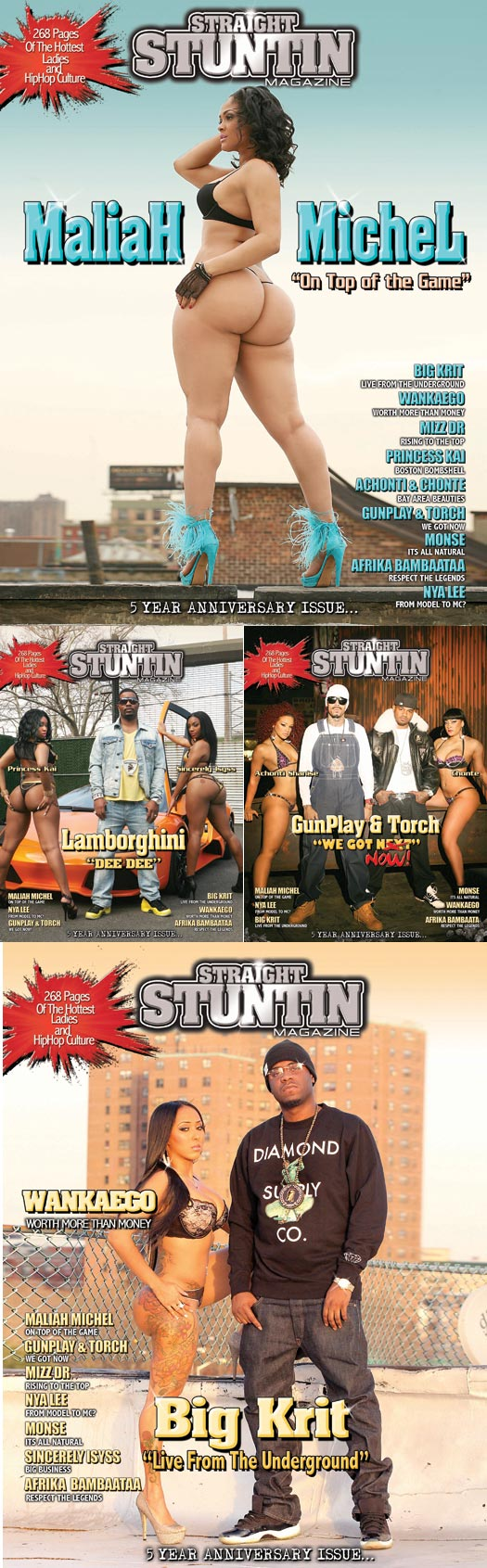 Necka Beckett in latest issue of Straight Stuntin - Urban Soul Photography