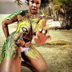 Bodypaint with Felix Natal Jr, Will Kasso and Thick Business