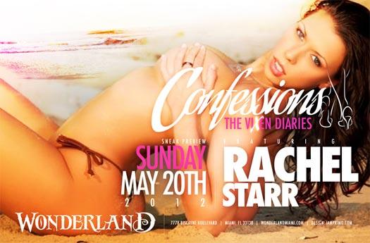 Abella Anderson, Claudia Sampedro, Jasmin Cadavid, and Rachel Star in Miami at Wonderland May 20th