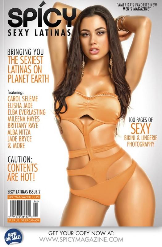 Carol Seleme @selemecarol - Spicy Magazine Issue 2 Preview