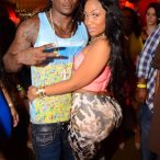 Kyra Chaos @KyraChaos at Bambou Nightclub in Houston with Chris Johnson and Lil Keith