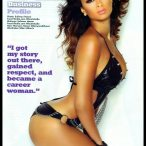 Draya Michele @drayaface in latest issue of Blackmen Magazine - scans courtesy of CutieCentral.com