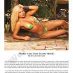 Heather Shanholtz @HShanholtz on cover of Models Mania