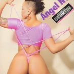 Angel @AngelReignsNYC in Straight Stuntin Issue #22